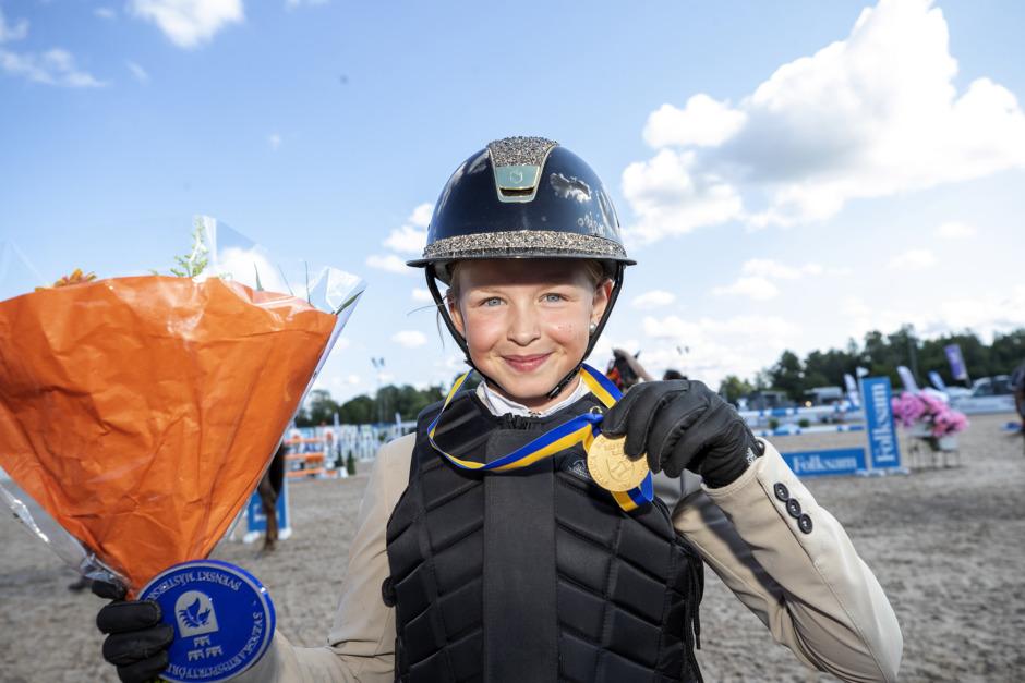 Mathilda Hansson ensam felfri i SM-finalen