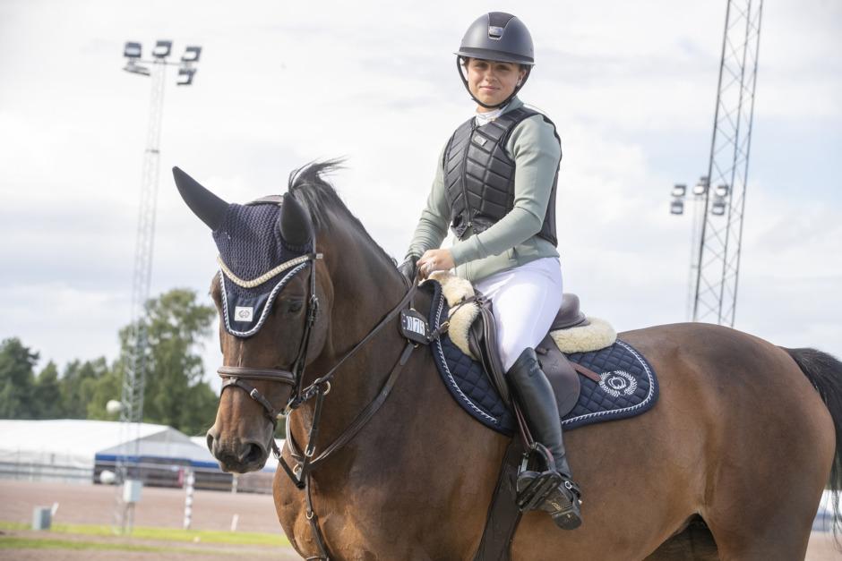 Mathilda Bohlin har guldläge – på Paul Schockemöhles häst