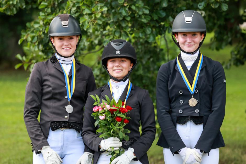 Ponny-SM i dressyr – här är medaljörerna