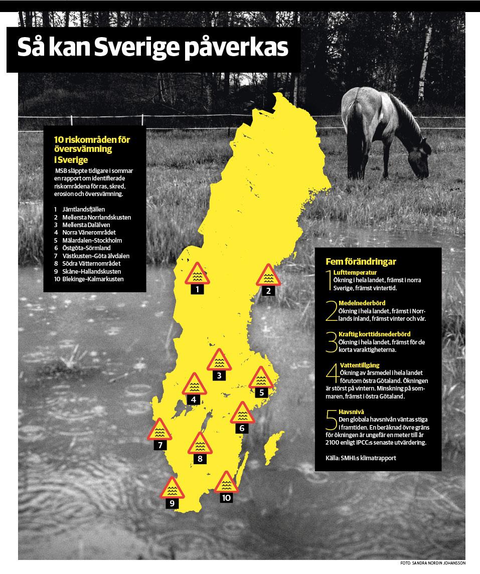 Så kan Sverige påverkas