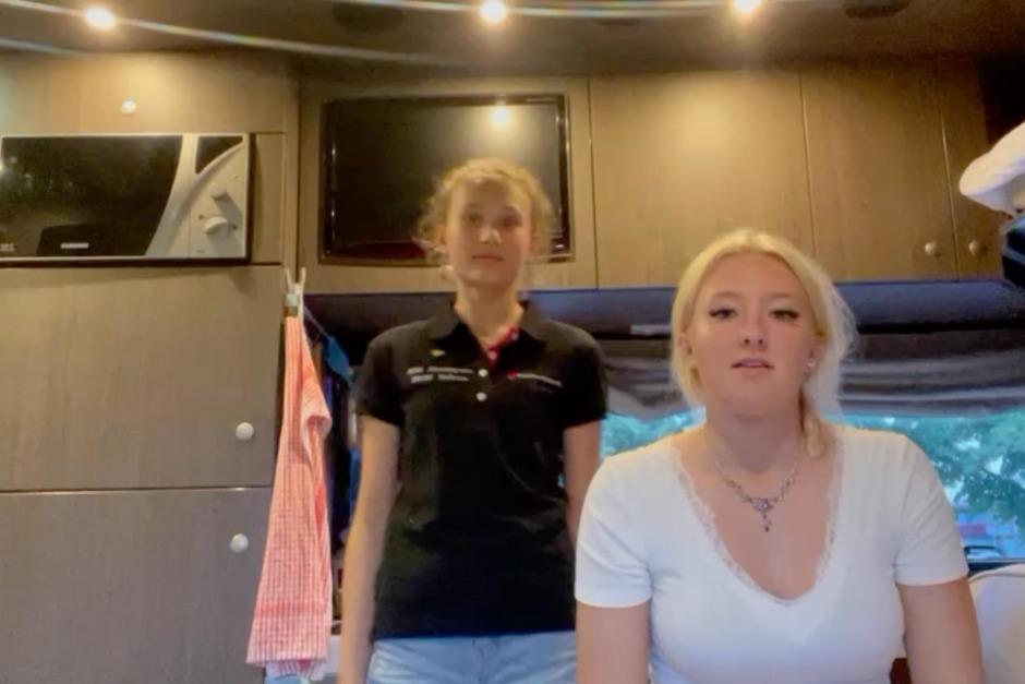 """EM-vloggen med Sally och Selma: """"Nu är vi på väg"""""""