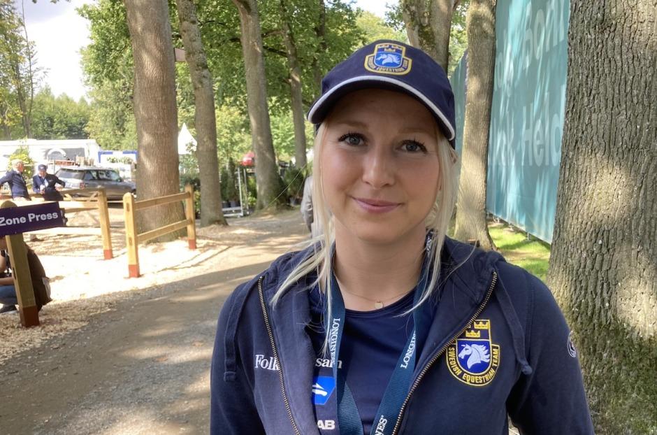 """Så hjälper Evelina Tovek svenska laget: """"Viktig uppgift"""""""