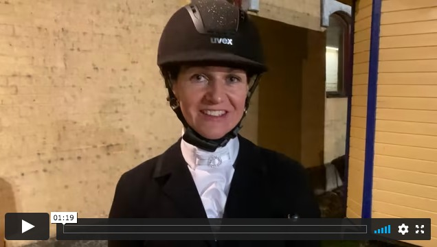 Kolla klippet: Camilla Axelsson om att rida elva hästar i samma final