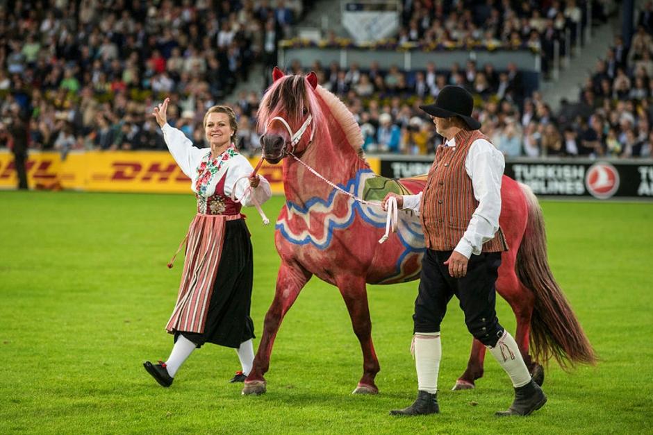 EM-invigningen blir en hästfest för alla