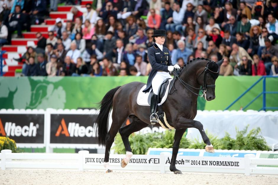 Kristina Bröring-Sprehes mästerskapshäst Desperados död