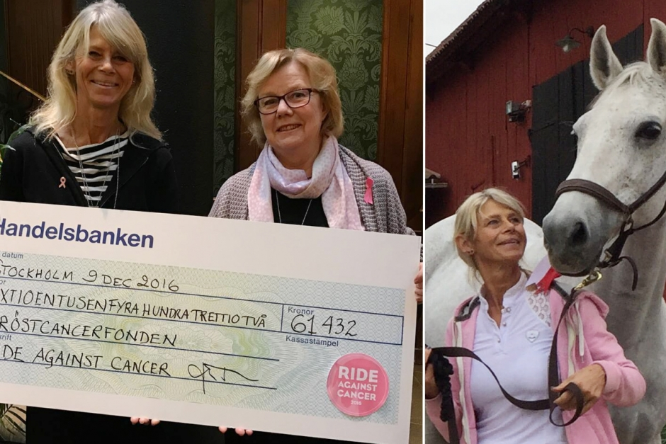 Mikas idé blev 61 000 till Bröstcancerfonden
