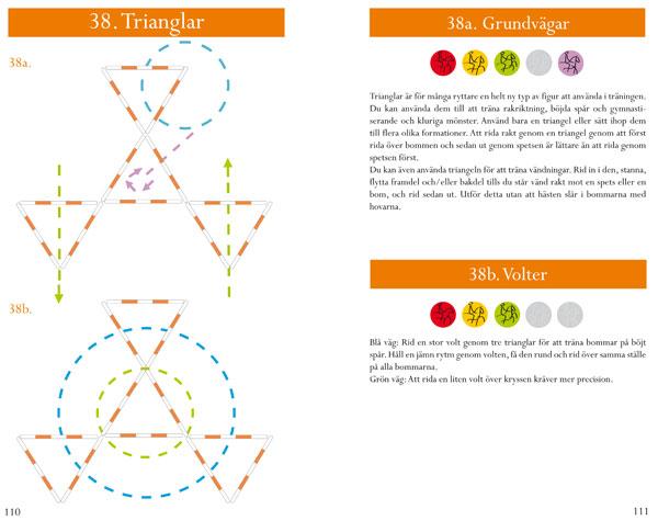 Volter och grundvägar med trianglar