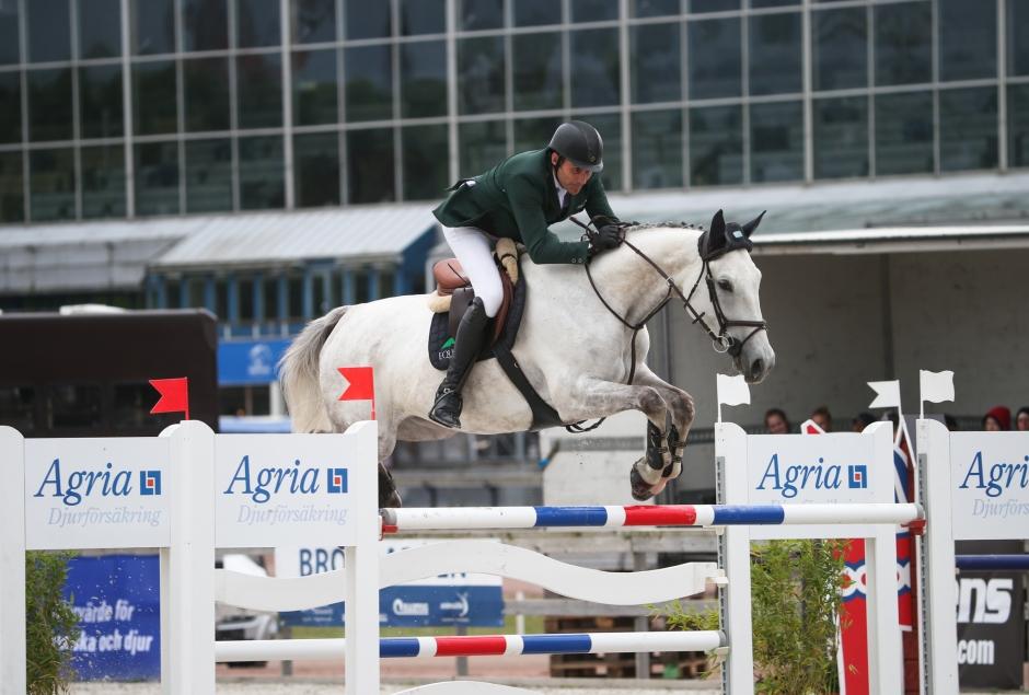 John Hickeys 1,50-häst har avlidit