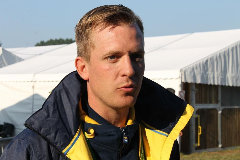 Axel Olin körde till sig en fjärde plats