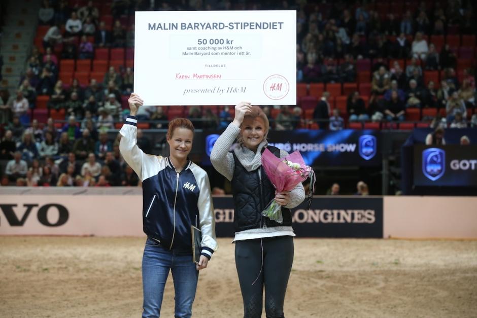 Malin coachar Karin Martinsen