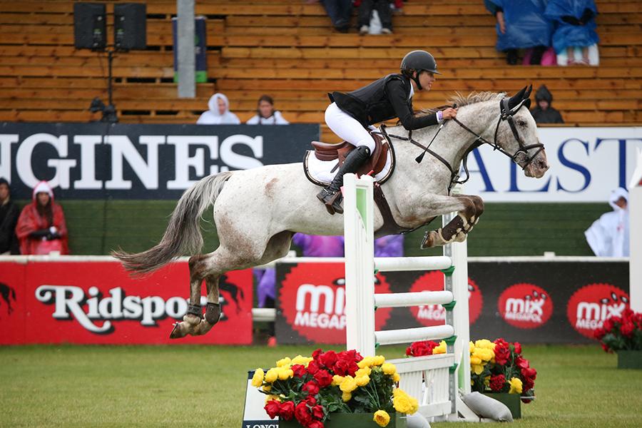 Janelle Larsson ponnyvinnare