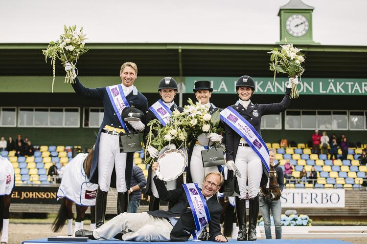 Svensk braksuccé i Nations Cup