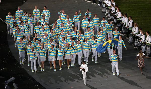 Svenskarna klara för start
