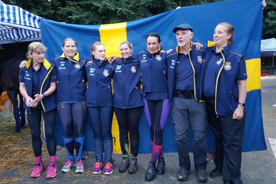 Sverige tog EM-brons – historisk medalj