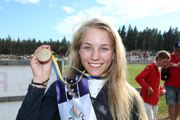 Zabine är svensk mästare