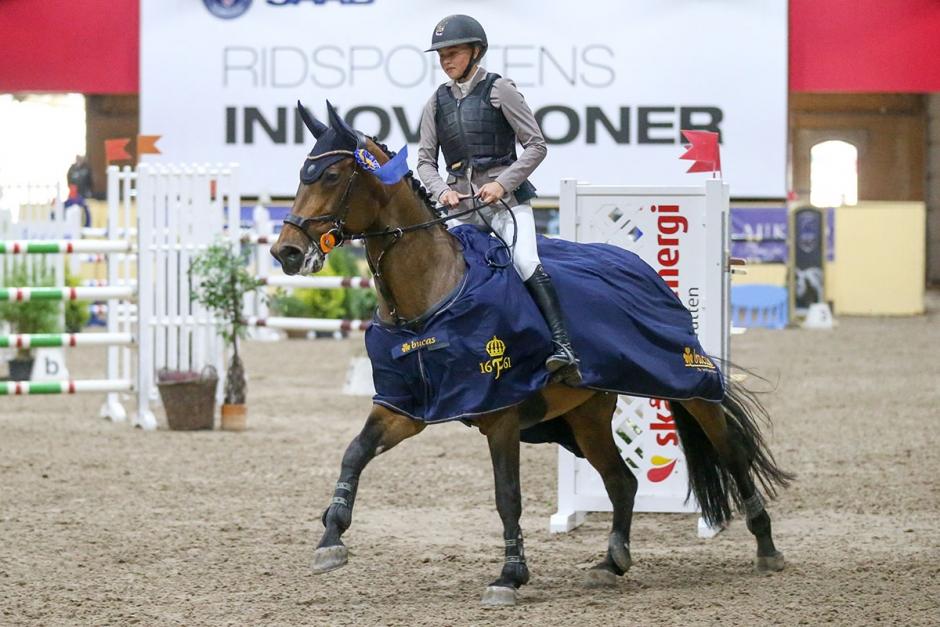 Ottilia Lundgren vann andra kvalet av Krafft Young Rider Cup