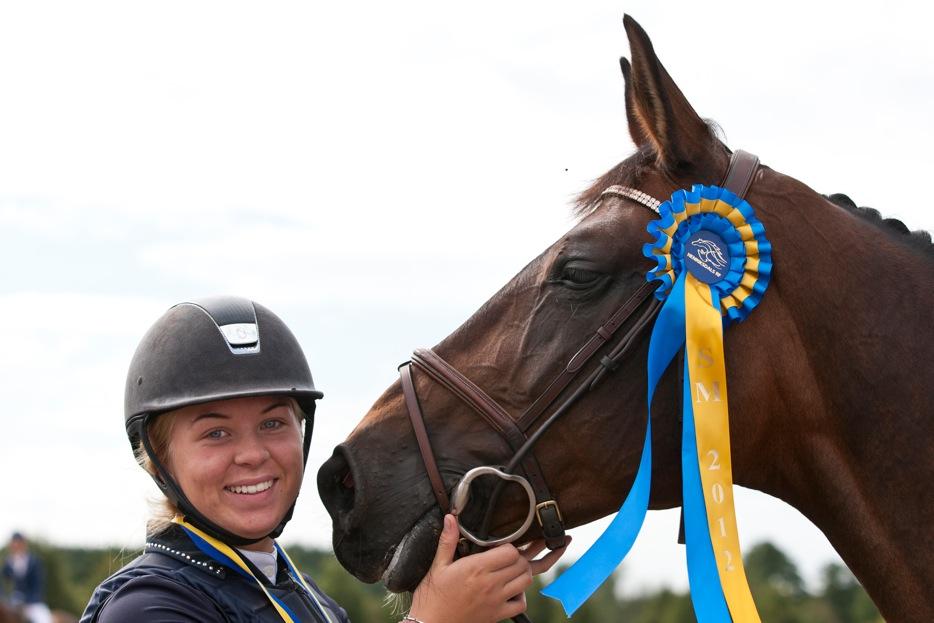 Melina vann junior-SM