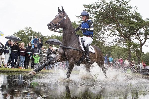 Svennerstål trea med ny häst i CIC3*