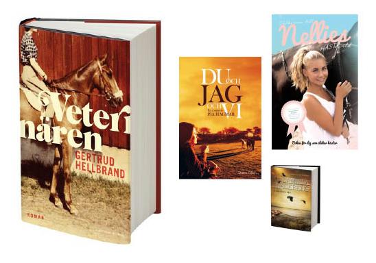 Julklappsböcker för hästtokiga