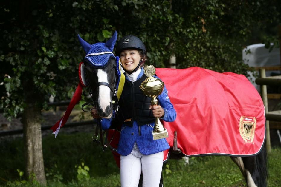 Årets finalsegrare i Ridsport Ponny Cup