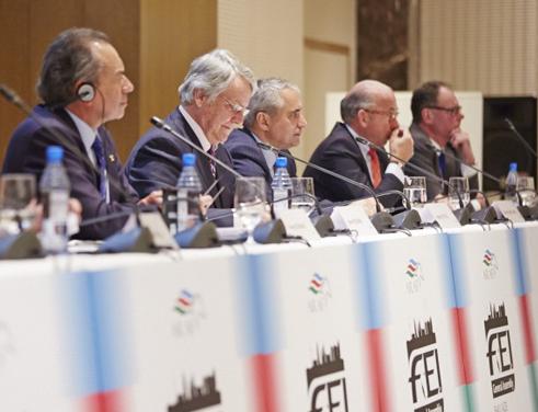Förenade Arabemiraten är tillbaka i FEI-familjen