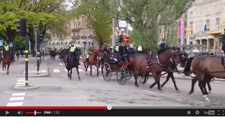 Hästarna tränas för prinsens bröllop
