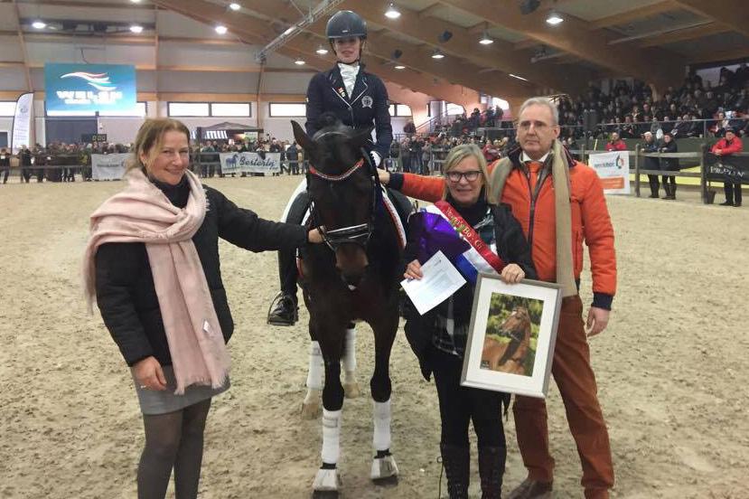 Verona´s Bo-Gi elitpremierad i Holland