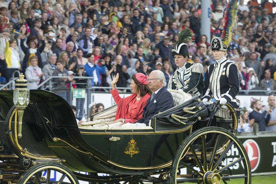 Succé för svensk invigning i Aachen