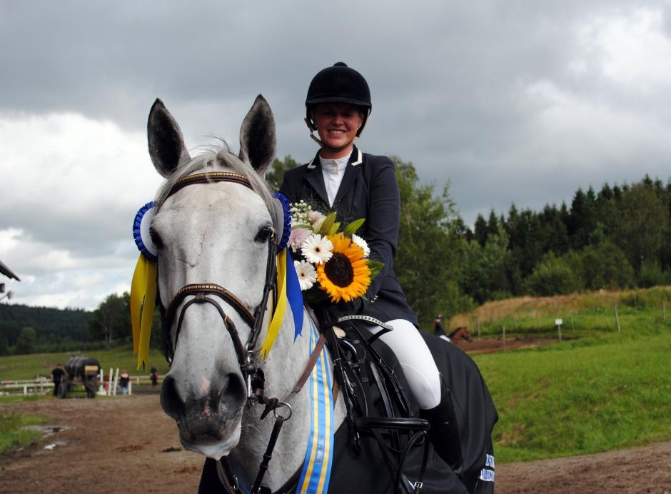 Fin helg för Linn Widmark