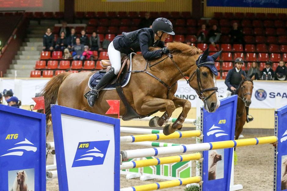Axelina vann Morgondagens Vinnare på Flyinge