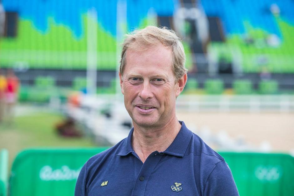 Rolf-Göran Bengtsson sprider hästkunskap på SM