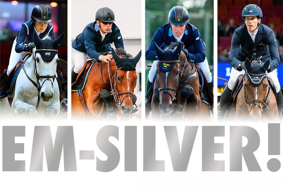 EM-silver till Sverige – Irland tog guldet
