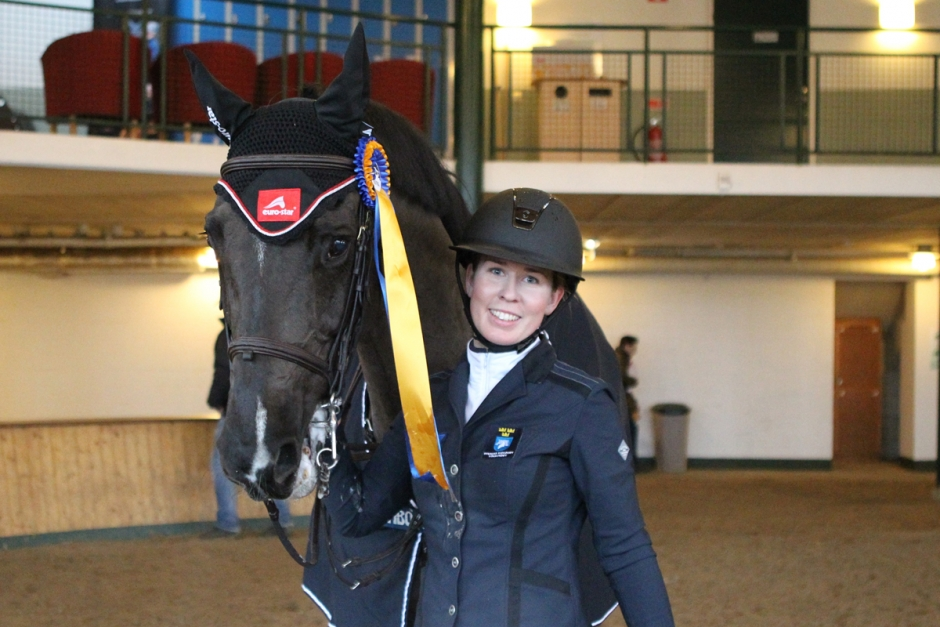 Alexandra Eriksson segrade efter tight strid