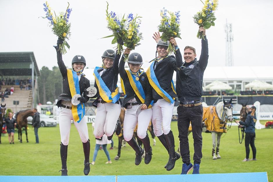 Superkometen Åby RK vann SM-guld