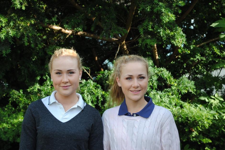 Systrar till EM – åt olika håll