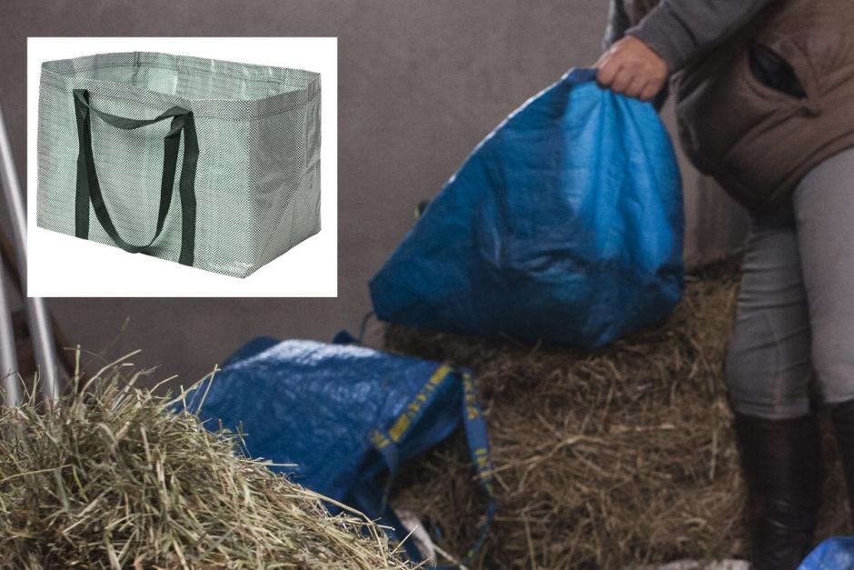 Blå stallklassiker uppdateras till en Hay-påse