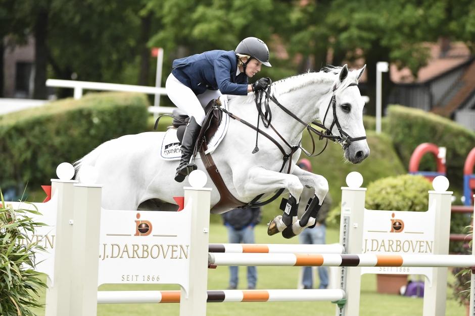 Fendi – från svårriden till välriden GP-häst