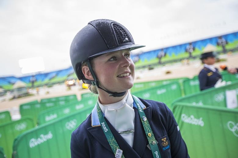 Juliette Ramel presenterade sig ordentligt i sin OS-debut.