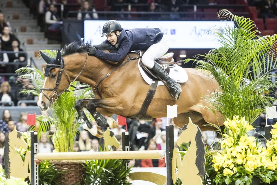 Robin och Morgondagens häst bästa svenskar i Grand Prix