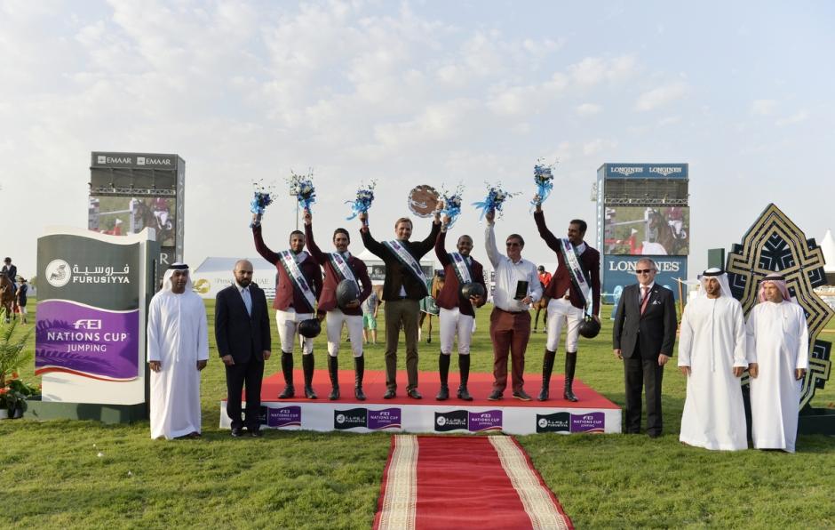 Qatar vann Nations Cup