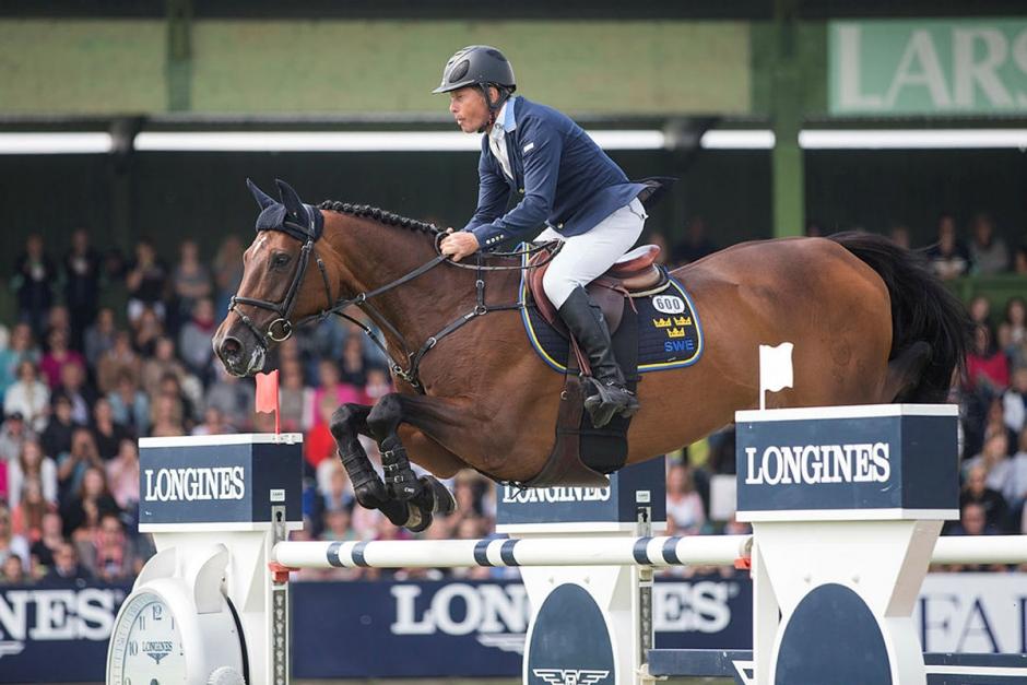 Rolf-Görans OS-häst igång med ny ryttare