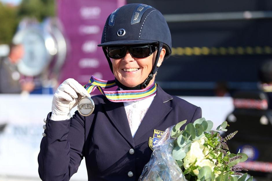 Louise tog emot sin andra EM-medalj