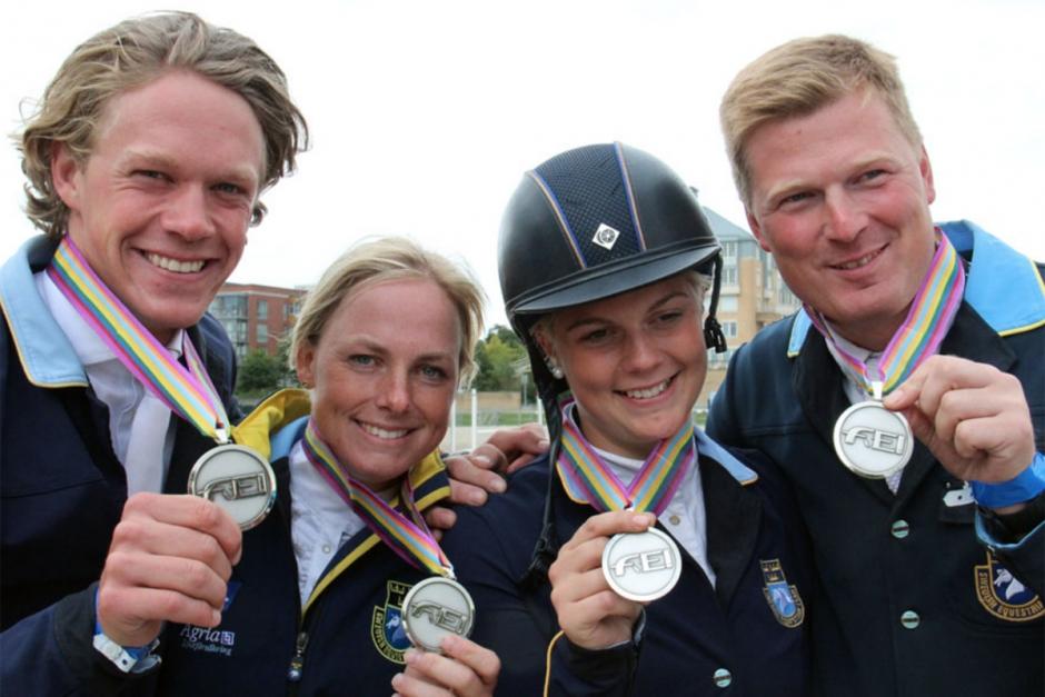 Svenska hästarna startklara – håll koll på medaljmatchen