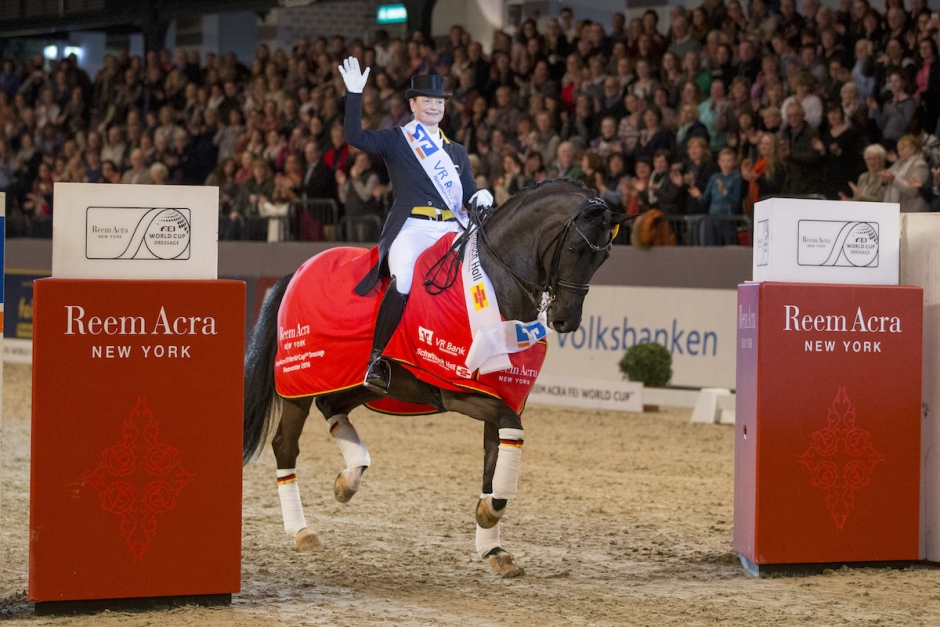 Wavavoom Weihegold-Werth segrade i Amsterdam