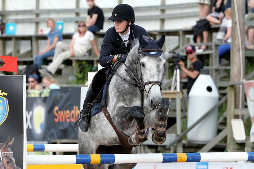 Nathalie Adelborg vann i Karlstad