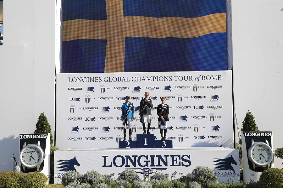 RGB vann Global Champions Tour