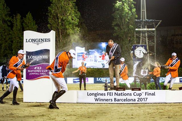 Nederländerna tog hem Nations Cup