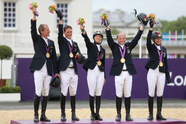 Tyskarna försvarade sitt OS-guld