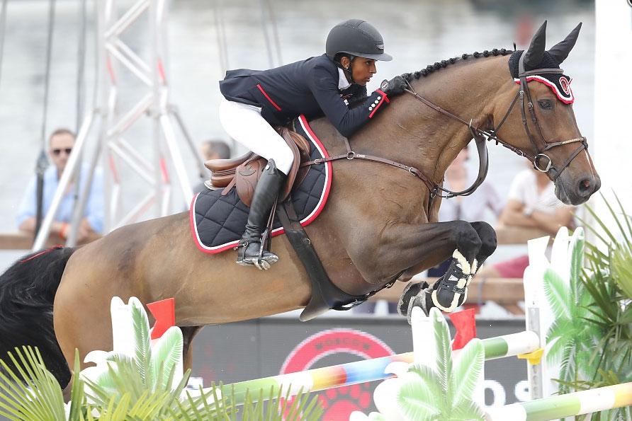 Mathilda Karlsson felfri i Monaco